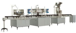 Beverage Machinery Gas Containing Drink Auto Washing, Filling and Sealing Production Line