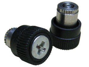 P. C. Board Style Panel Fastener Assemblies with Plastic Knob