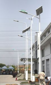 Green Energy 100W Wind Solar Hybrid Power Street Light pictures & photos