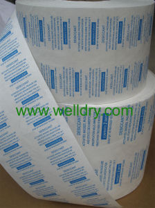 Tyvek Film or Paper Coated Glue With Different Printing for Packaging of Desiccant pictures & photos