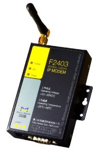 M2M 3G HSPA Modem With TCP IP, RS232 RS485 for Scada, Meter (F2403)