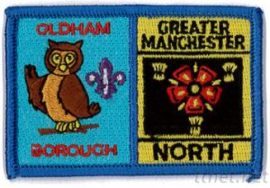 Embroidered Emblem-United Kingdom, Badge, Crest, Emblem pictures & photos
