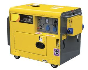 5kw Silent Portable Diesel Generator pictures & photos