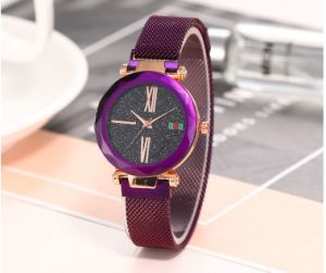 2019 Hot-Selling New Star Magnet Link Luxury Lady Quartz Gift Watch