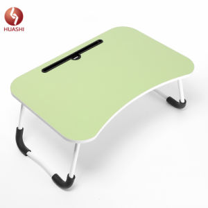 Modern Design With Protected Legs Comfortable Wooden Folding Laptop Tables On Bed