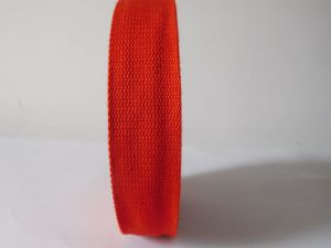 35mm Red Polyester Webbing for Garment Accessories pictures & photos