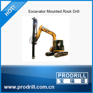 Excavator Mounted Drill Rig Y90 Reasonable Price pictures & photos