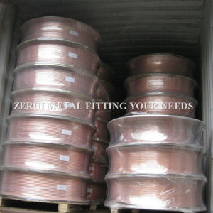 ASTM B743 Level Wound Copper Tubing for Central Air Conditioner pictures & photos
