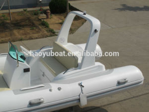 2017 New Model 5.2m Rigid Inflatable Boat Rib520c Rubber Boat Hypalon with Ce Fishing Boat pictures & photos