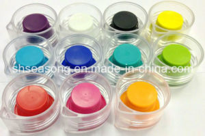 Plastic Cap with Inner Silicon / Bottle Cover (SS4309) pictures & photos