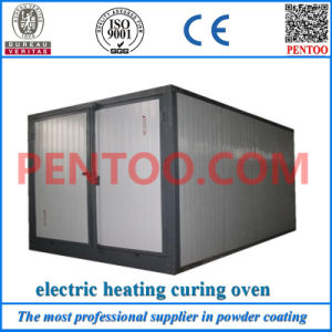 Economy Assembled Powder Coating Curing Oven of Gas/Electric/Fuel Heating pictures & photos