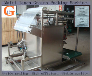 Multi-Lane 4 Sides Sealing Sweetener Packing Machine (sugar; salt) pictures & photos
