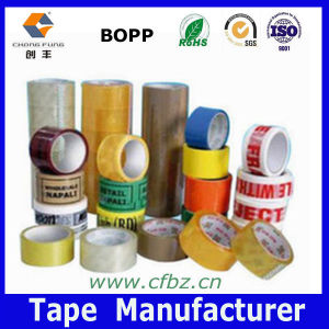 Hot! ! ! Clear/Brown/Printed OPP Bag Sealing Tape