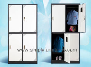Steel Office Closet with 4 Doors pictures & photos