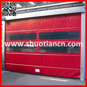 High Speed Industrial Remote Control Roller Shutter Door (ST-001) pictures & photos