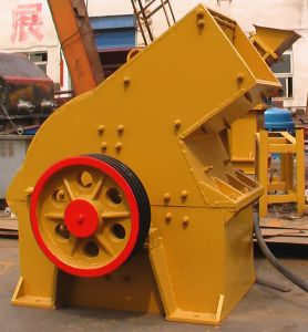 New Type Big Input Size Rock Hammer Crusher