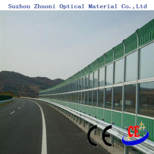 Highway Noise Barrier Polycarbonate Solid Sheet/PC Sheet (PCS-AAA)