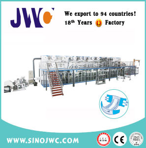 Chinese Full Servo Adult Diaper Machine Manufacturer pictures & photos