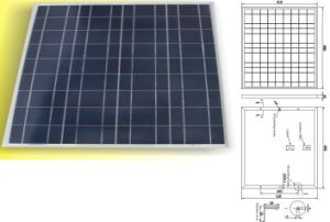 12V 18V 50W Polycrystalline Solar Panel PV Module with TUV IEC61215 IEC61730 pictures & photos
