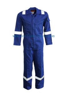 Fire Resistant Fr Coverall for Oil and Gas pictures & photos