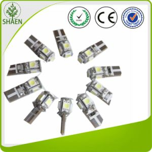 T10 5SMD Auto LED Light Bulbs with Canbus pictures & photos