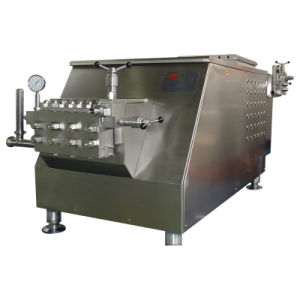 Industrial Use 5000L/H 40MPa Juice Homogenizer pictures & photos