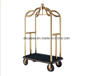 Stainless Steel Luggage Cart (DF81) pictures & photos