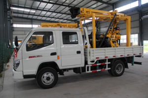 Xyc-200gt Truck-Mounted Drilling Rig for Water Well Drilling pictures & photos