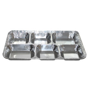 3 Compartments Aluminum Foil Container pictures & photos