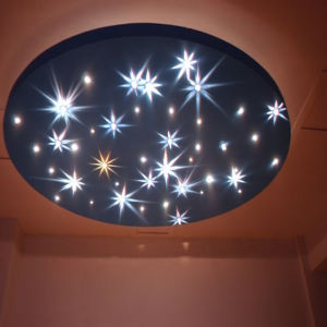 Starry Sky Fiber Optic Star Ceiling Kit Color Change Sauna Bedroom Fy 2 003