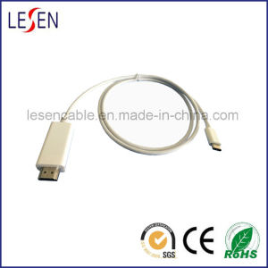 New USB Type C 3.1 Male to HDMI Male Cable pictures & photos