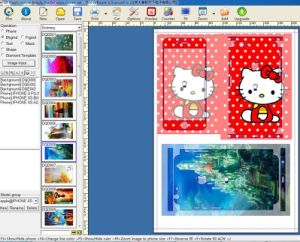 Custom Mobile 3m Vinly Sticker Template Software for Mobile pictures & photos