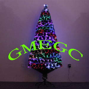 Manufacturers Selling Green PVC 150 Cm, Pressure Section of Colorful LED Lights, Light Source, Fiber Optic Christmas Tree, Christmas Decorations Wholesale