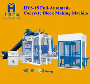 Full Automatic Hyq T8-15 Concrete Block Making Machine, Block Making Machine, Cement Block Making Machine