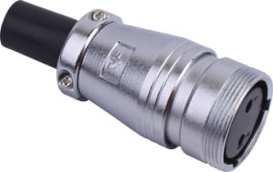 Circular Cable Power Waterproof Connector (P28f-2k)