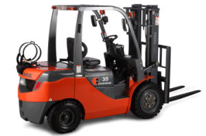 3.5ton LPG & Gasoline Forklift Truck with Nissan K25 pictures & photos