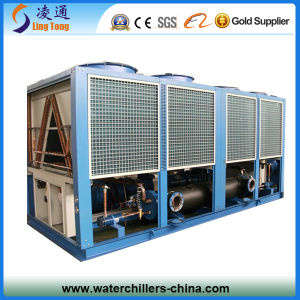 Semi-Hermetic Screw Compressor Closed Type Air Cooled Screw Chiller pictures & photos