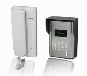 China Wired Audio Door Phone Intercom System For Apartment China Audio Door Phone Wired Intercom