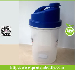 Plastic Blender Shake Bottle with Filter pictures & photos