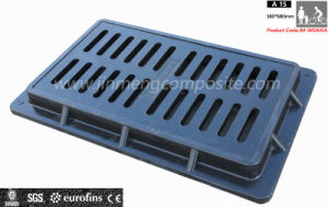 FRP Composite Gully Cover Drain Top Rain Grating pictures & photos