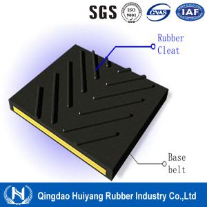 C6 V Chevron Rubber Cleated Conveyor Belt