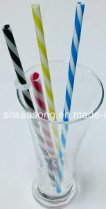 Straw for Drinking / Straw with Spiral Design (SS5105) pictures & photos