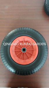 Qingdao Made High Quality Durable Beauty PU Wheel (4.80/4.00-8) pictures & photos