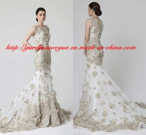 Fashion Summer Women Dresses Y Long Tails Sgs Wedding Dress Gdny054