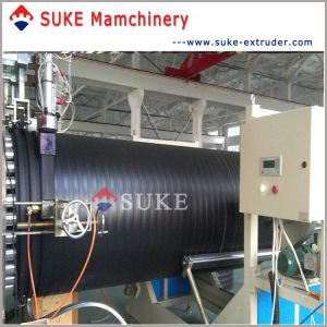 PE Plastic Steel Winding Pipe Extrusion Production Machine Line pictures & photos