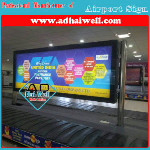Scroller Media Scrolling LED Light Box in India Airport pictures & photos