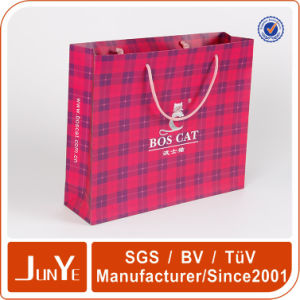 Fashionable Embossing Brand New Paper Bag for Supermarket