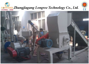 PVC Profile Waste High Output Crusher, Plastic Waste Crushing Unit pictures & photos