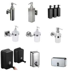 China New Style Wall Mounted Bathroom, Bathroom Soap Dispensers