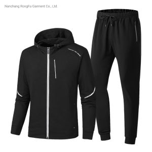 Men′s Sports Casual Hoody Tracksuit